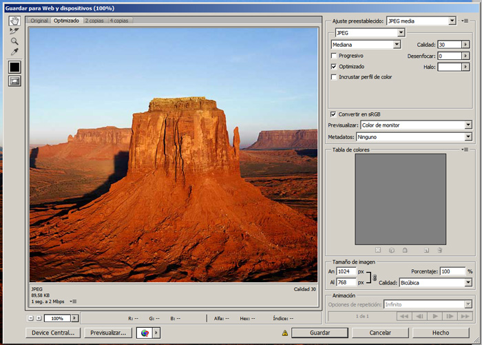 optimizrar imagenes 2