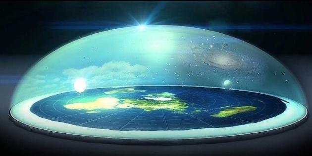 La tierra plana